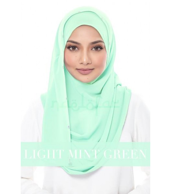 Naelofar Duchess - Light Mint Green