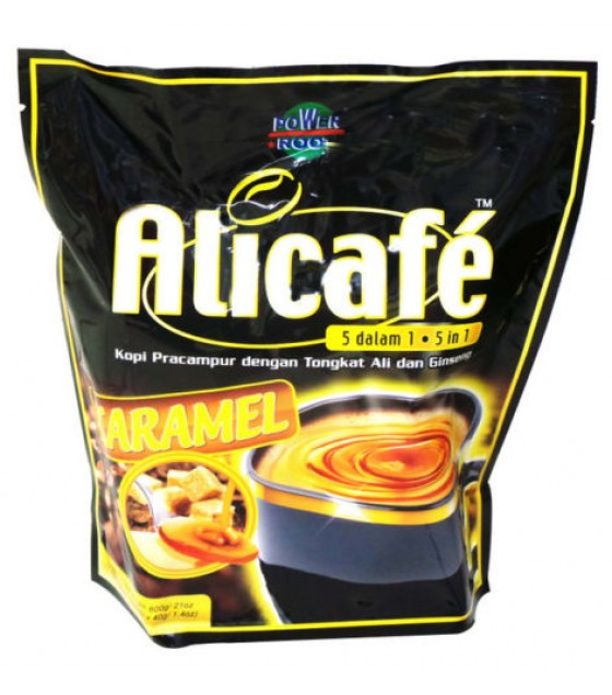 ALI CAFE CARAMEL 5 in 1 COFFEE PREMIX