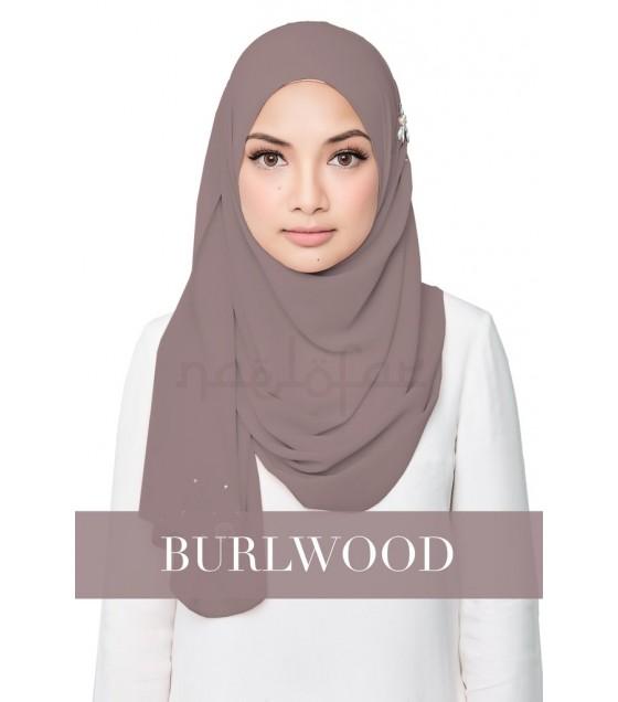 Naelofar Hijab - Darling Love (Burlwood)