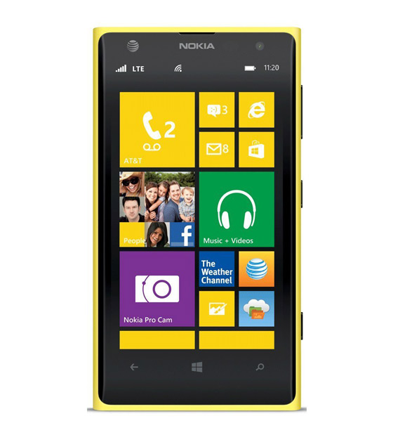 Nokia Lumia 1020, Yellow 32GB