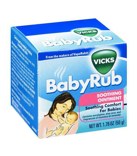 Vicks Baby Rub Soothing Ointment