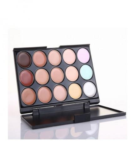 KingMas Professional 15 Concealer Camouflage Makeup Palette