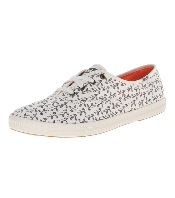 Keds Women's Champion Botanical-Leaves Fashion Sneaker